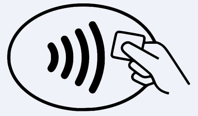 Accept NFC credit cards