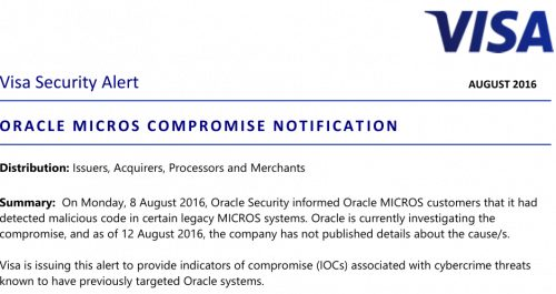 Card systems visa oracle micros