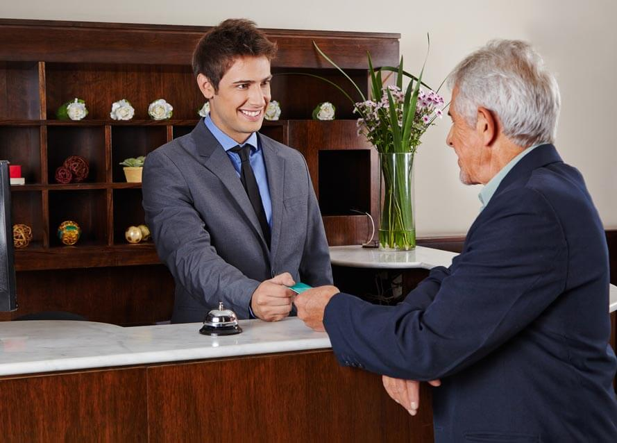 credit card payment hotels, spas, and resorts