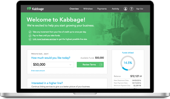 Kabbage Business Loans Card Systems Card Systems Inc