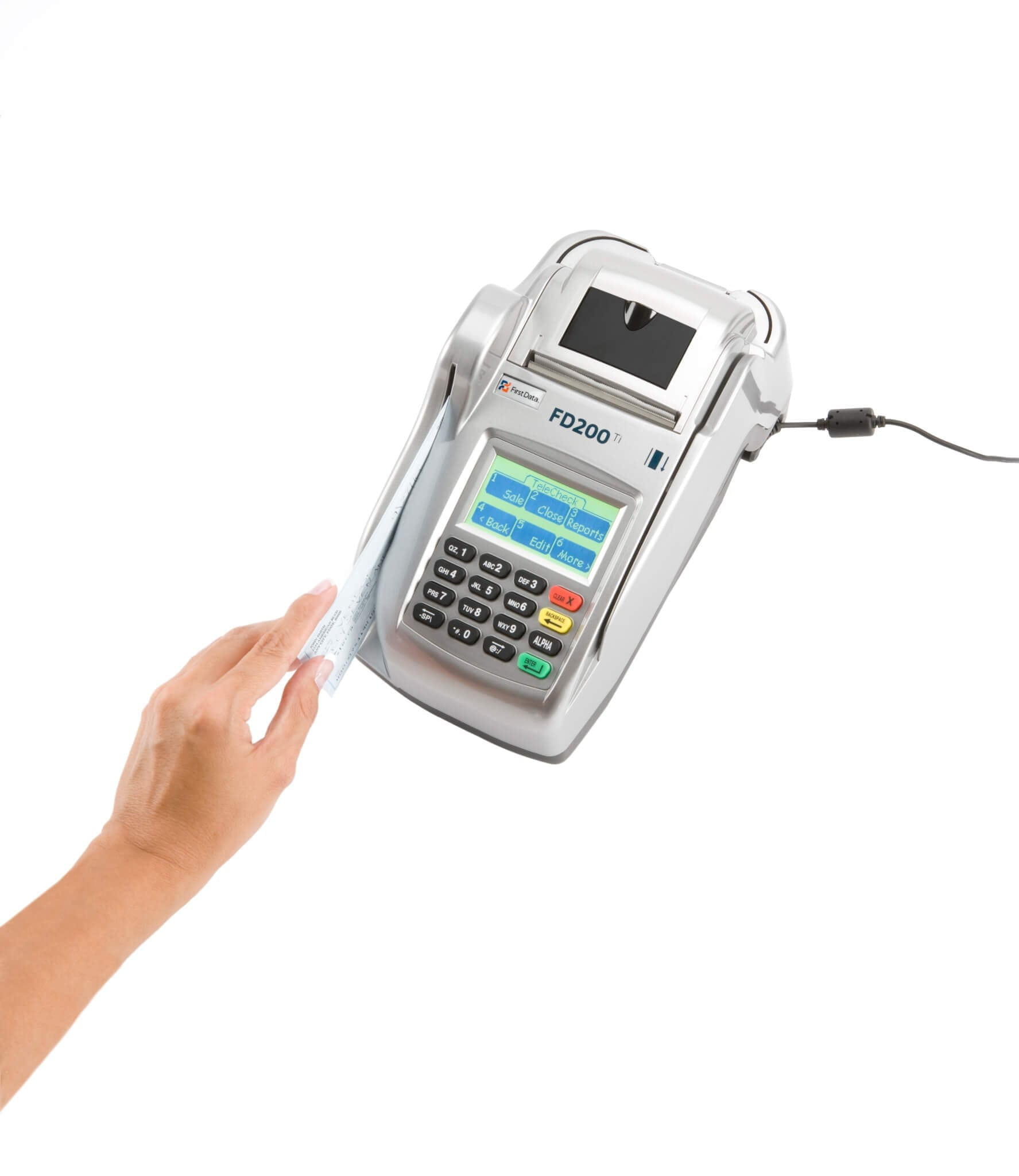 Electronic Check Acceptance Fd200 Pos Apps From Card