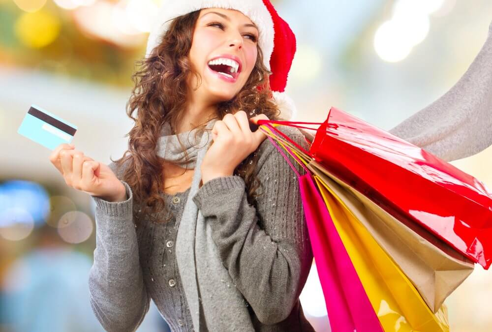 shopping with gift cards