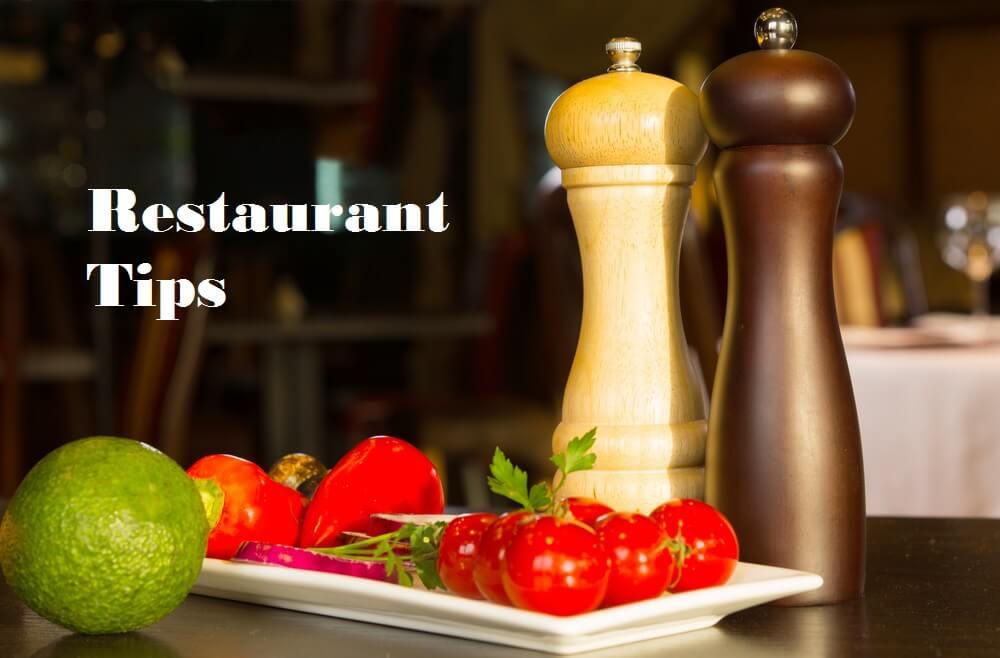 Restaurant Tips