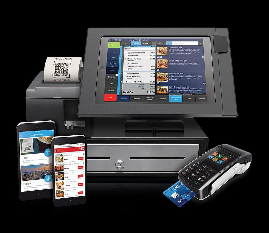 Mobilebytes Pos With Pinpad Web Pos Apps From Card