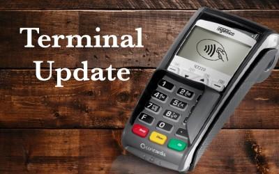 Critical Credit Card Terminal Updates
