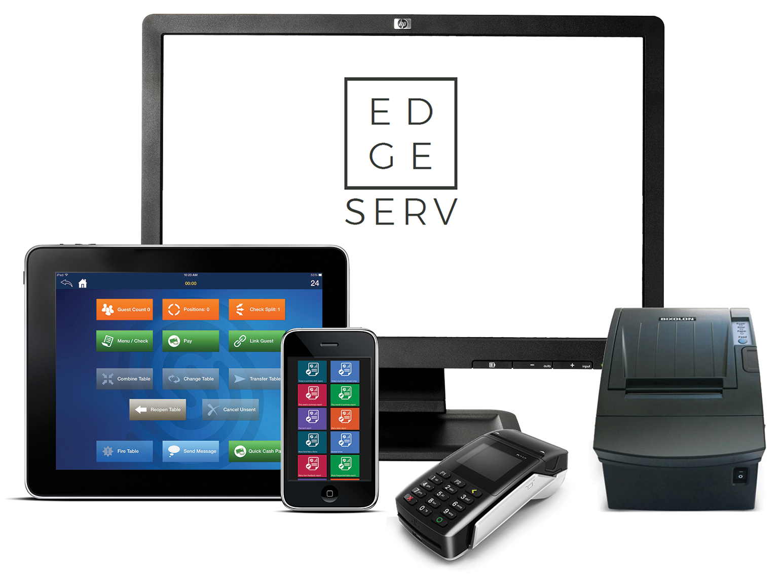 MobileBytes POS for iPad system